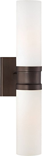 Minka Lavery Wall Sconce Lighting 4462-647 Glass Reversible 120w (18
