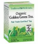 TRADITIONAL MEDICINALS TEA,OG1,GREEN W/GINGER, 16 BAG