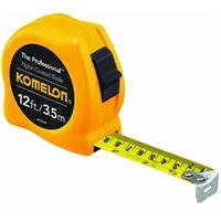 Komelon 4912IM 12ft. The Professional Tape Measure, Yellow