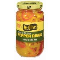 Mt Olive Banana Pepper Ring(HOT & MILD) Combo 6 Pack