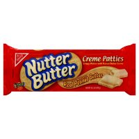 Nabisco, Nutter Butter, Creme Patties, 10.5oz Bag (Pack of 4)