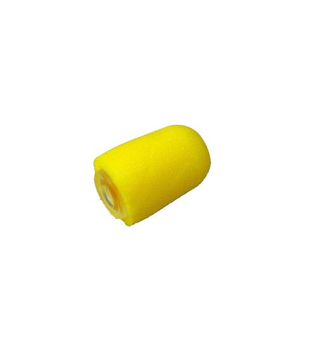 2 Pack TAPaulk Yellow Noise Attenuating Foam Plug for use with TAPaulk and Other Brands Acoustic Tube Earpieces S-02