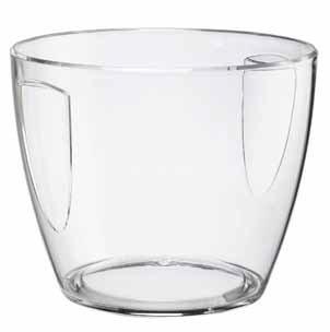 Compra Champañera (DOIMO Flair Smart Bowl 4/5 botellas de plástico/Cubitera/enfriador de vino/champán Carcasa/Ponche Carcasa/transparente/para 4 botellas en ...