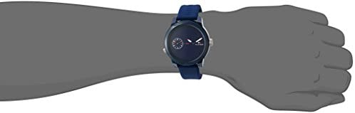 Tommy Hilfiger Men Plastic and Rubber Casual Watch Quartz Strap Blue Model 1791325