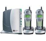 V-Tech VTIP8100-2 5.8 GHz Expandable Broadband Caller ID Speakerphone System, 2 Cordless Handsets (Vonage Certified)
