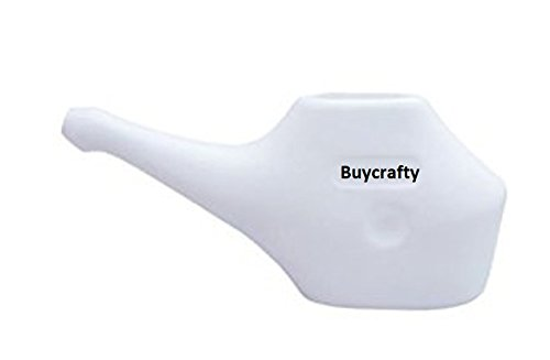 Buycrafty Traveller's Neti Pot for Nasal Cleansing, Little teapots with long spouts,Economy, Light-Weight Neti Pot | Handy, Compact & Travel Friendly
