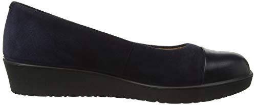 Angel Navy Women's 030 Blue Flats Ballet Hotter 5wTZHqXw