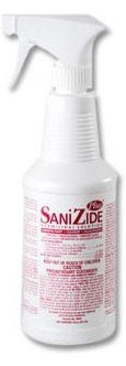SaniZide Plus Germicidal Solution 12 Bottle by Safetec of...