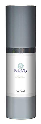BellaVita Anti-Aging Collagen Serum- Fill in Furrows and Pores, Dramatically Reduce Signs of Lines and Wrinkles- Increases elasticity - Improved ()