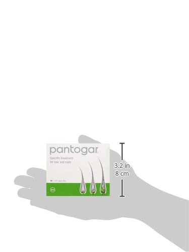 Pantogar Specific Treatment for Hair and Nails 90 Capsules: Amazon.es: Salud y cuidado personal