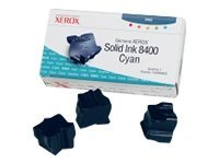 Xerox Phaser 8400 -Original Xerox 108R00605 - Solid Cyan Ink Cartridge -3400 pages