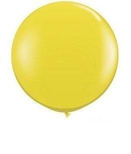 72 Inch Giant Latex Balloon (Premium Helium Quality) Yellow Pkg/1 (Large Helium Balloons)