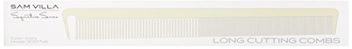 Sam Villa Signature Series Long Cutting Ivory Comb