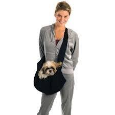 Kyjen Outward Hound OH00587-BK Sling-Go Pet Sling Dog Carrier, One Size, Black