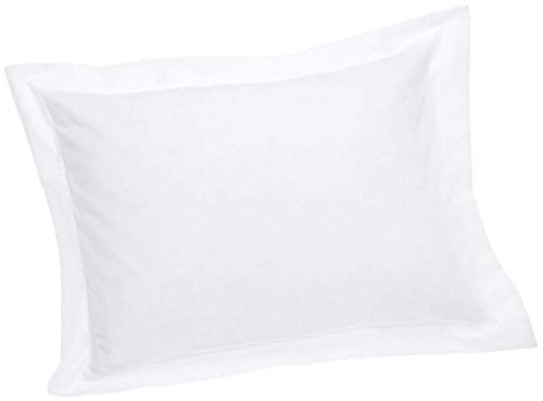 Set of 2 Pillow Shams Luxurious, Soft Hypoallergenic 100% Egyptian Cotton 600 Thread Count Pillow Cover (Standard Size- Queen/Full/Twin, White)