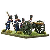 Black Powder: Napoleonic French Imperial Guard Foot Artillery firing 12-pdr