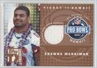 Shawne Merriman #45/249 (Football Card) 2007 Topps TX Exclusive - Ticket to Hawaii - Jersey [Memorabilia] #HAJ-SM