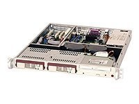 Supermicro CSE-811T-420B Chassis (Black) by Supermicro