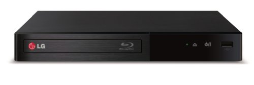 LG Electronics BP340 Blu-Ray Disc Player with Built-in Wi-Fi (2014 Model) (Player Blue Ray Dvd Internet)