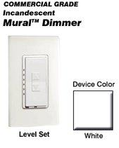 - Leviton Mli10-1lw Mural Incandescent Rocker Dimmer White