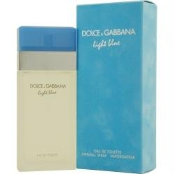 Dolce & Gabbana Light Blue By Dolce & Gabbana For Women. Eau De Toilette Spray 3.3 Fl. Oz (Packaging May Vary) ()