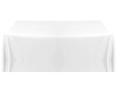 Urby® 70 x 120 Inch Rectangular Polyester Tablecloth White