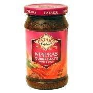Pataks Madras Curry Paste Hot 10oz -  Patak's, 3584018