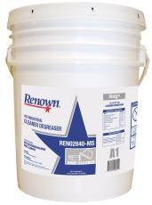 Renown REN02840-MS Industrial Cleaner Degreaser, Heavy Duty, 5 gal