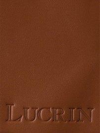 Smooth Leather Cognac Per Box Lucrin Square Tissue wnvUq
