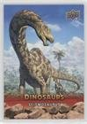 Seismosaurus (Trading Card) 2015 Upper Deck Dinosaurs - [Base] - Extinction Red #49