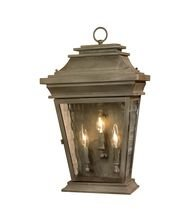 Artistic 5729-AC 3 Light Outdoor Wall Lanterns - Aged Copper