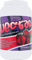 Syntrax Nectar Whey Protein Isolate Powder Strawberry Kiwi -- 2.09 lbs - 2pc by Syntrax