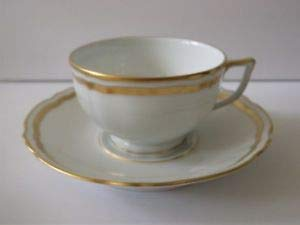 (Raynaud Marie Antoinette Tea Cup and Saucer)
