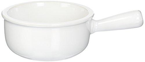 Le Creuset Stoneware 16-Ounce French Onion Soup Bowl, White