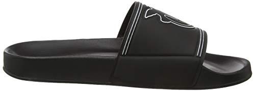 Nero Sandali Z99 Pvc Azoto nero Aperta Donna Stampato Punta Ciabatta Pinko Limousine Eva 7qXTzwS