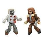 MiniMates - The Walking Dead - Series 4 - Survivor Rick & Shot Zombie
