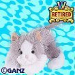 Webkinz Virtual Pet Plush - GREY & WHITE CAT (Retired) (Cat White Webkinz)