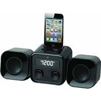 GPX HM109B 30-Pin iPod Speaker Dock (Ipod Shuffle Dock Station)