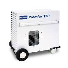 L.B. White TS170 Premier 170 Portable Forced Air Ductable Propane Tent Heater, 170,000 Btuh