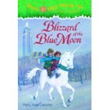 Magic Tree House Hardcover Books: A Merlin Mission (~ #35 Night of the New Magicians ~ #36 Blizzard of the Blue Moon (Magic Tree House Blizzard Of The Blue Moon)