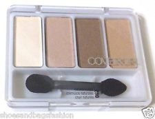 CoverGirl Eye Enhancers 4 Color Eye Shadow Kit - Natural Nudes 280 (Pack of 3)