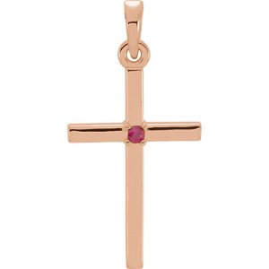 Set-Cross Pendant