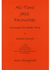 All Time Jazz Favourites. Arranged For Pedal Harp  Spielpartitur
