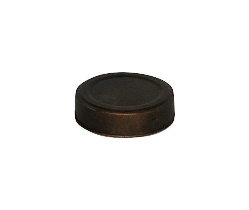 Black & Gold Mason Jar Lid - 2.75in. - Set Of 6