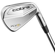 Cobra Men's Fly Z Pro Iron Set, Steel, Stiff, 3-PW, Left Hand ()