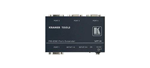 Extender Rs 232 Port - KRAMER VP-14 Kramer VP-14 4-Ports RS-232-Ports Extender Kramer VP-14 RS232 Extender Splitter