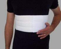 Male-Rib-Belt-Chest-Support-White
