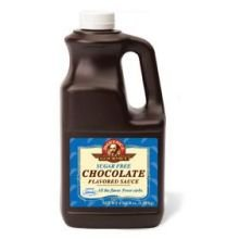 Kerry Food and Beverage Sugar Free Chocolate Sauce, 0.5 Gallon -- 6 per case.