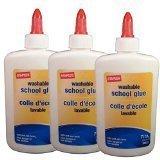 Staples School Glue, 4 Ounce, Each (39417)