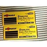 Stainless Steel Staples 3/8